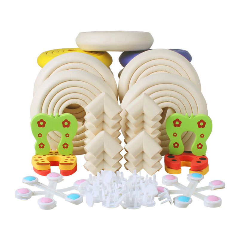 4//12//24PCS Safety Edge Desk Table Rubber Foam Furniture Corner Protector Guard U