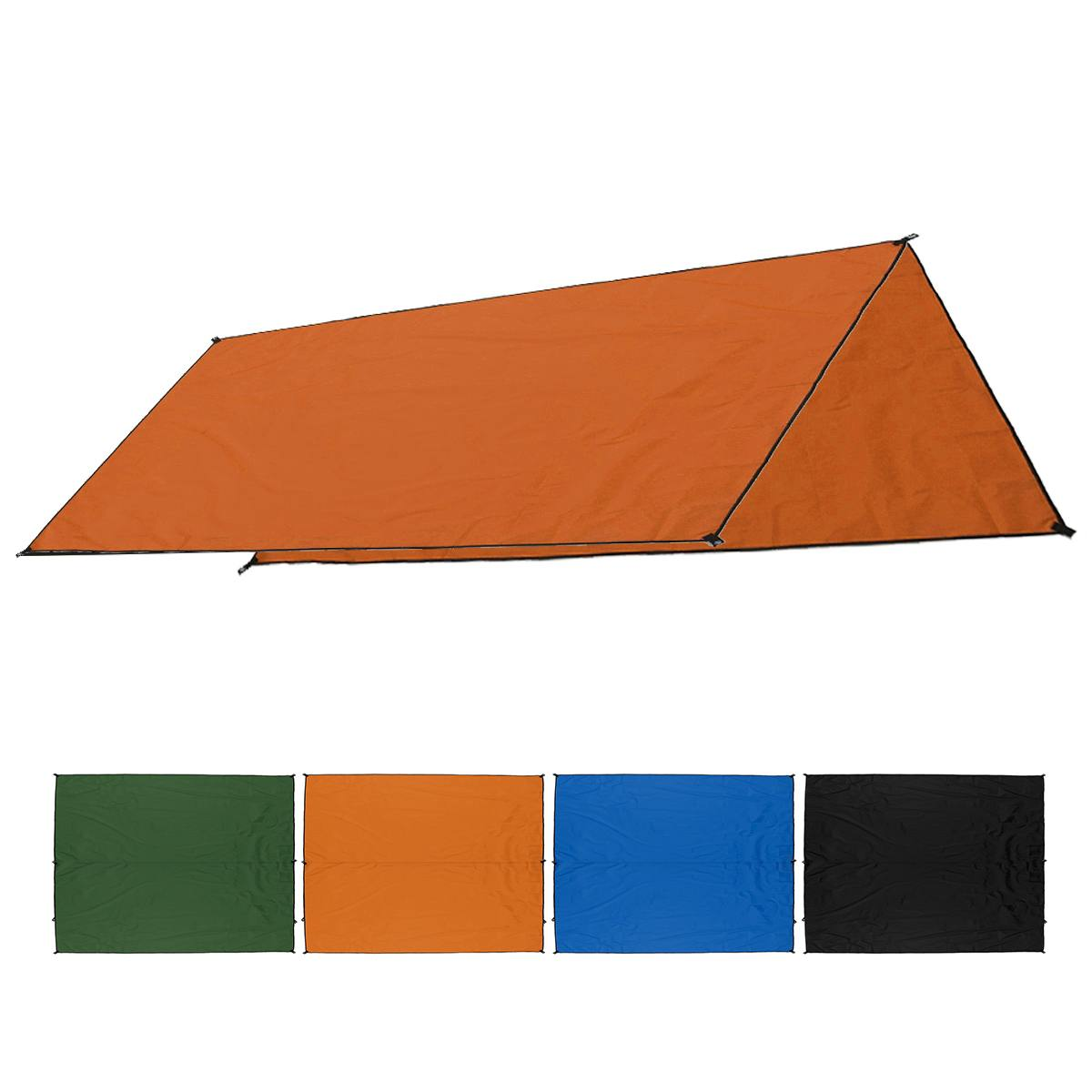 ALI shop ...  ... 33010964848 ... 2 ... Waterproof Tent Shade Beach Sun Shelter Tarp Ultralight UV Garden Awning Canopy Sunshade Outdoor Camping Hammock Rain Fly ...