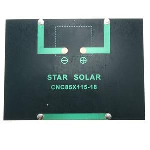 Image 3 - CLAITE 12V 1.5W Mini Polycrystalline Solar Panel DIY Epoxy Solar Cells Silicon Battery Power Bank Charger Solar Module System