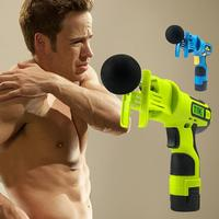 Fitness Sports Pain Relief Muscle Massager Professional Vibrating Deep Therapy Body Muscle Massage Gun Tissue Gun