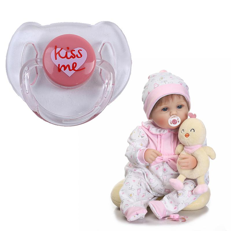 Brand New Lovely Doll Magnet Pacifier Accessories Reborn Doll Supplies Dummy Pacifier Magnet For Reborn Baby Doll Kids Toy