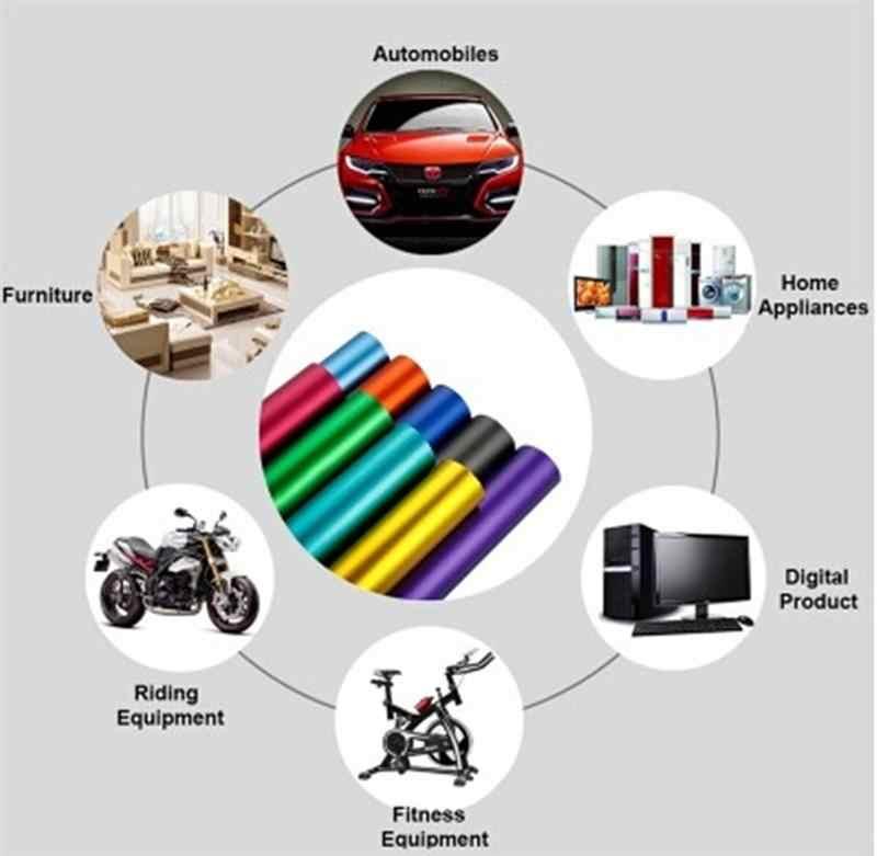 1 шт., 6D, рулон с наклейками из углеродного волокна, светоотражающая пленка для автомобиля, защита рулона, наклейка для самостоятельного декора автомобиля, 200x50 см