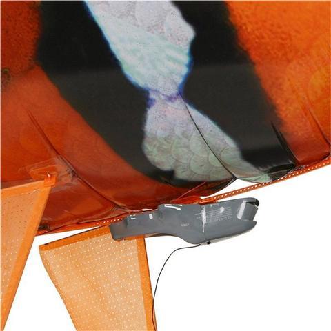 1pc controle remoto voando ar tubarao brinquedo