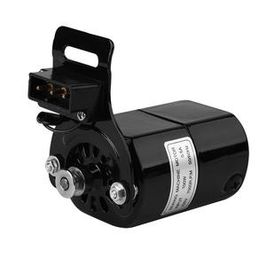 Image 2 - 220V 100W Sewing Machine Motor 7000 RPM K bracket 0.5 AMP  Home Sewing Machine parts AC Motor Eu Plug