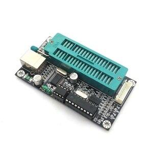 Image 4 - 1 conjunto pic microcontrolador usb programação automática programador k150 + icsp cabo