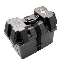 Multifuctional машина В 12 В батарея коробка USB Автомобильное зарядное устройство светодио дный с LED вольтметр экран дисплея для автомобиля Грузови