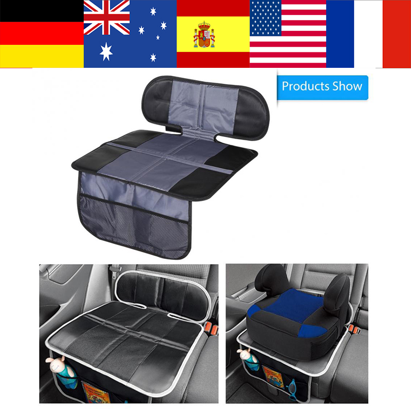 Car Automobile Seat Cover Mat Infant Child Baby Safety Seats Non-slip Protector For Kids Kick Mat From Mud Dirt Clean Seat Cover