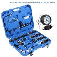 Гаражные инструменты 28 шт. Универсальный Автомобильный резервуар для воды тестер утечки система охлаждения детектор набор инструментов ав