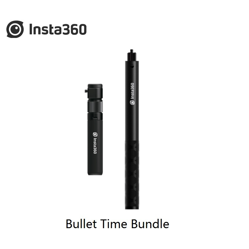 Insta360 ONE X and ONE Multifunctional Bullet Time Bundle Accessories Selfie Stick Rotation Handle Bullet Time