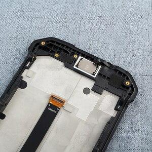 Image 4 - Dla Blackview BV9500 Bv9500 Plus wyświetlacz LCD i ekran dotykowy z wymianą ramki + narzędzia + Film dla Blackview BV9500 Pro 5.7