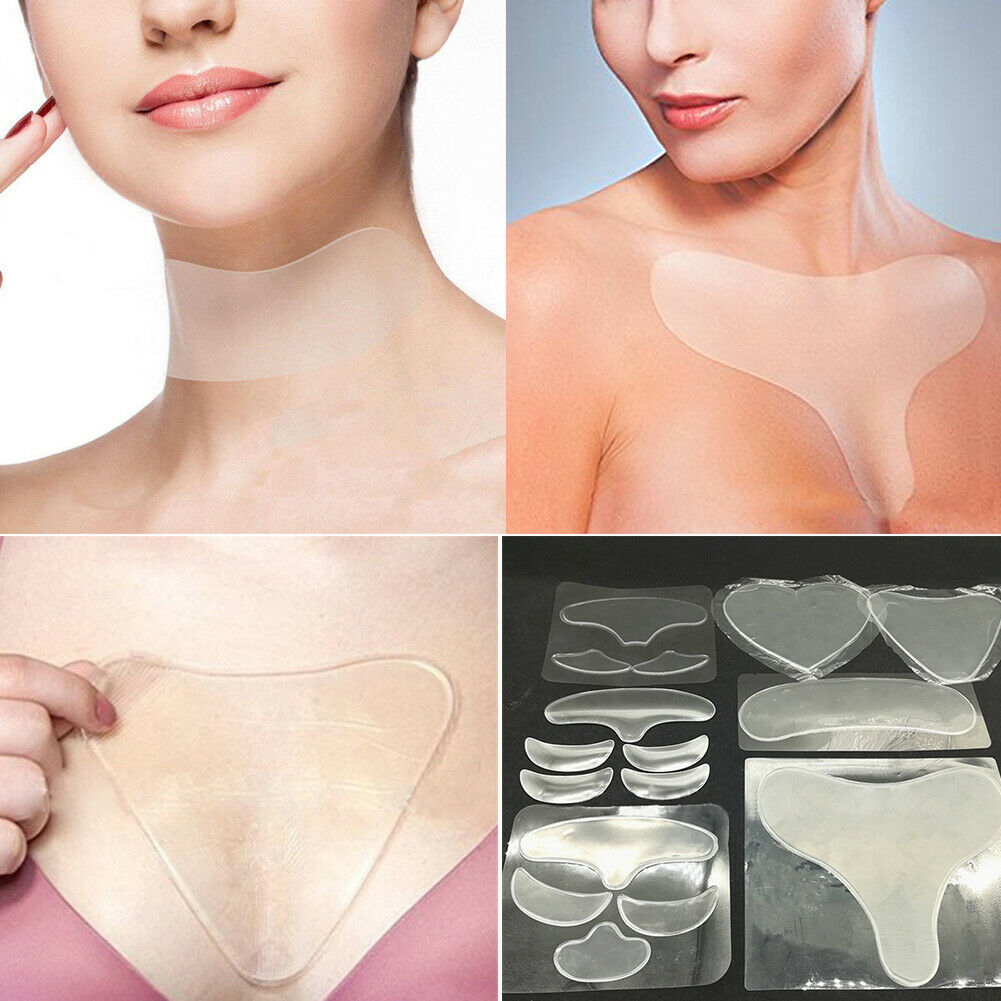 Silicone Anti Wrinkle Eye Face Pad Reusable Medical Pad Anti-aging Eliminate Prevent Face Wrinkle Face Skin Care Face Lift Tools