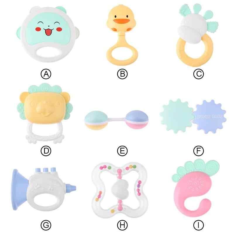 Sonajero de mano para bebé, sonajeros para cuna, mordedores móviles, juguetes para bebés, música para bebés, recién nacidos encantadores, juguetes educativos de 0 a 12 meses, regalos 2