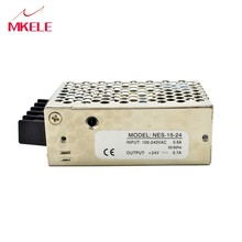 NES-15 5v 12v 15v 24v 48v  Switching Power Supply Source Transformer Supply Met CE Certificaat 3A 1.3A 1A 0.7A 0.35A mean well original nes 75 12 12v 6 2a meanwell nes 75 12v 74 4w single output switching power supply