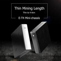 ET 4 Thin Mini ITX Cases USB2.0 2.5 inch HDD SDD Computer Gaming PC Chassis
