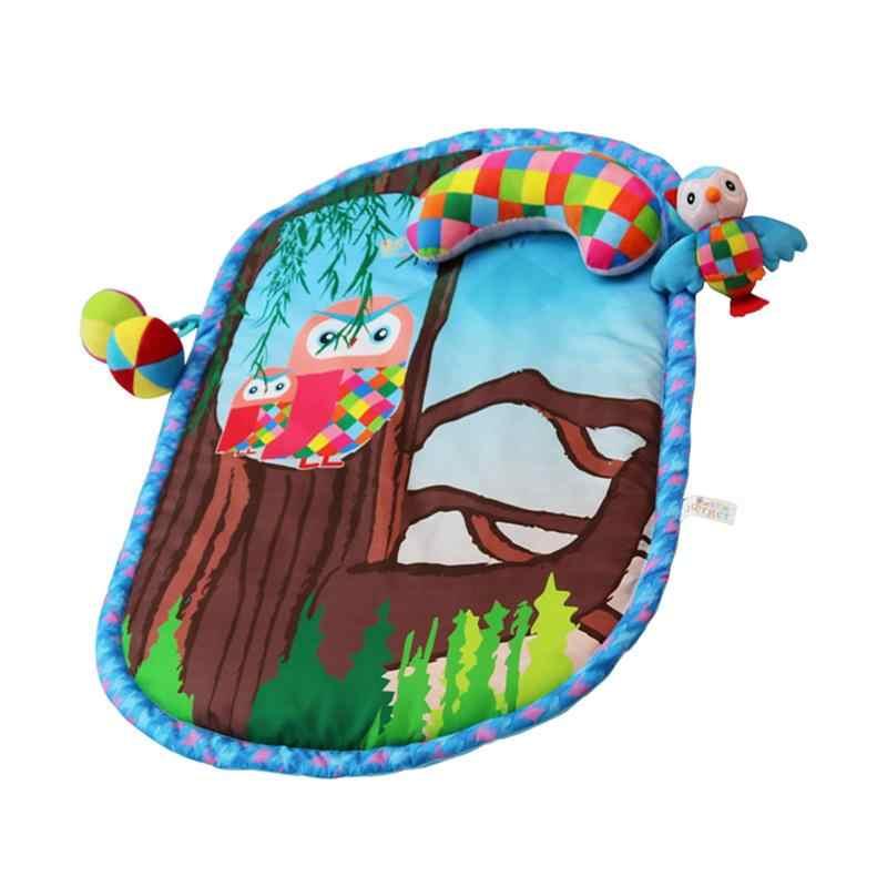 Музыкальное образование игровой коврик ползающий мультфильм игровой игрушечный планшет подстилка-подушка на день рождения подарок для детей малышей