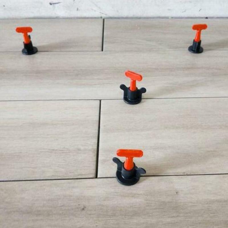 Adeeing New 50pcs/Set Level Wedges Tile Spacers Flooring Wall Tile Carrelage Leveling System Leveler Locator Spacers Plier DA