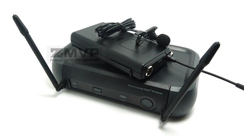 ZMVP PGX14 UHF système de Microphone sans fil karaoké professionnel avec PGX Bodypack transmetteur revers Lavalier Clip Mic 800-820 Mhz - 5