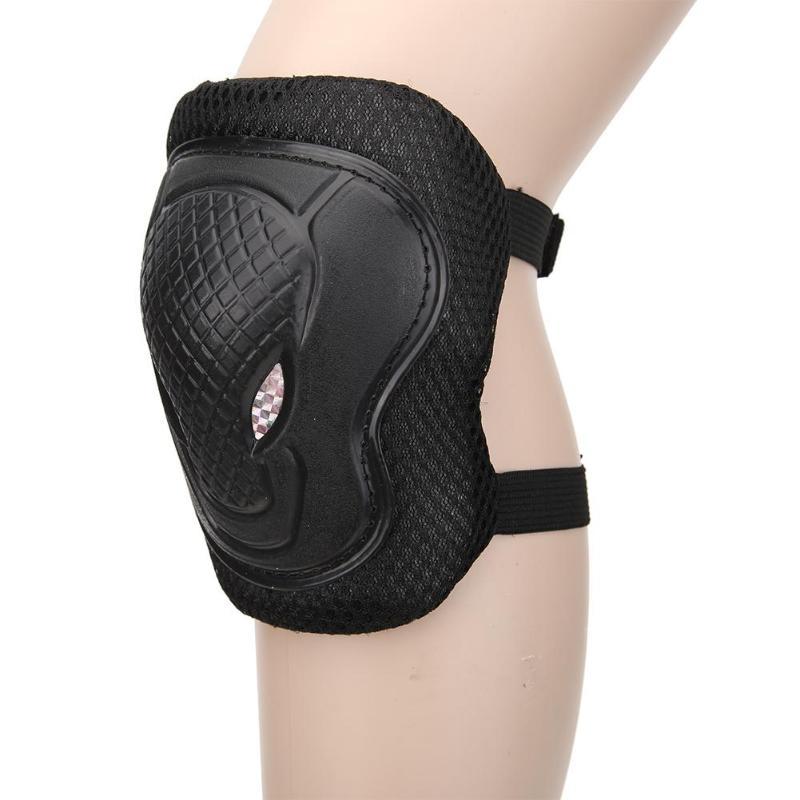6 Stücke Erwachsene Roller Radfahren Sport Sicherheit Gesetzt Knie Ellenbogen Pads Schutz Kneepads Für Rinding Skating Werkzeug Sport Sicherheit