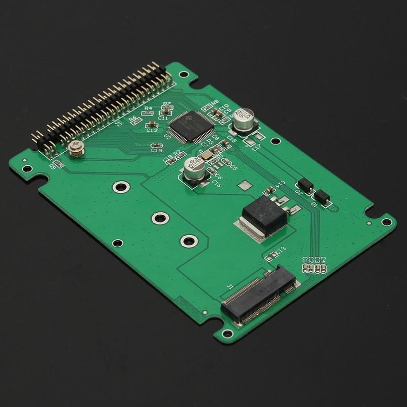 Hot 44 Pin M.2 NGFF SATA SSD to 2.5 IDE SATA SSD Converter SATA Adapter Card IDE Adaptor Convertor B+M KeyHot 44 Pin M.2 NGFF SATA SSD to 2.5 IDE SATA SSD Converter SATA Adapter Card IDE Adaptor Convertor B+M Key