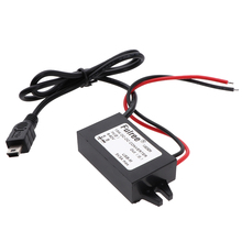 8-60V to 5V 3A Mini USB DC-DC Step Down Voltage Converter Car Power Regulator цена
