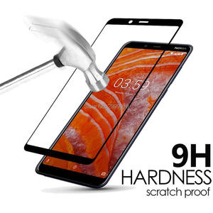 Image 3 - 3D For Nokia 3.1 Plus Full cover Tempered Glass Screen Protector film 6 inch 9H Safety Film On 3.1+ 3.1Plus TA 1118 Nokia3.1