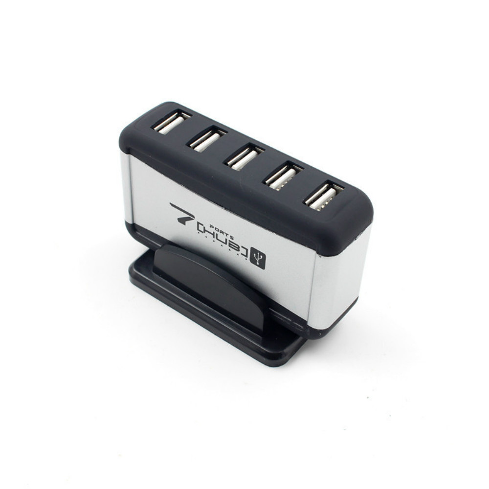 Image 3 - USB HUB 2.0 4/7 Ports Micro USB 2.0 HUB Splitter With Power Adapter USB Hab High Speed 480Mbps USB Splitter 3 HUB For PC-in USB Hubs from Computer & Office
