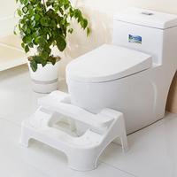 Home Bathroom Supplies Plastic Toilet Seat Footstool Bathroom Toilet Stool Anti constipation Children Toilet Ladder Step Stool