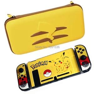 Image 1 - Nintend สวิทช์อุปกรณ์เสริมใหม่กระเป๋าถือ + ฟิล์มกระจกนิรภัย + PC Shell สำหรับคอนโซลเกม Nintendo Switch