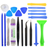 HLZS-Professional Mobile Phone Repairing Opening Tools Tweezers Pry Spudger Tool Kit for iPhone 4s 5s 6s iPad Samsung Surface