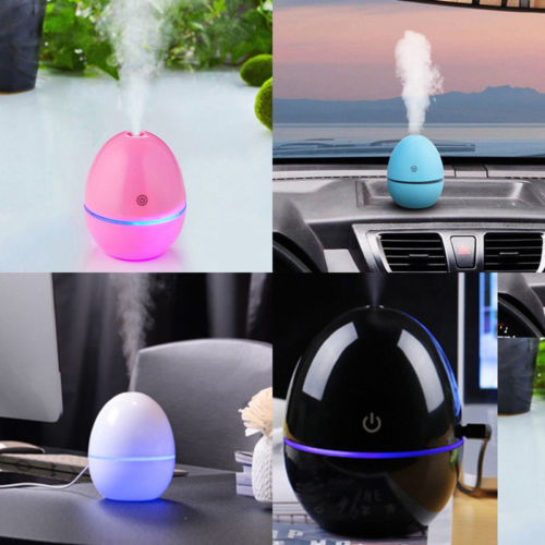 Portable USB Essential Diffuser Ultrasonic Humidifier LED Air Purifier Small Air Conditioning Appliances