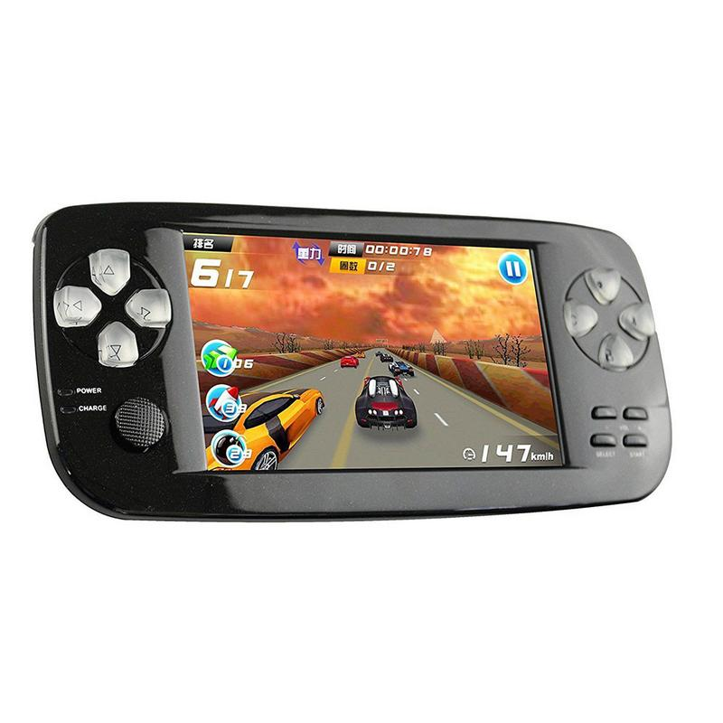 Retro Game Console Handheld Game Console PSP GBA Arcade Simulator Game Console JZ4760 Dual Core 528MHz Support TF Card