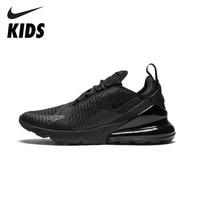 362a53722 نايك الجوية ماكس 270 الأصلي الاطفال احذية الجري وسادة هوائية الأسود الرياضة  في الهواء الطلق رياضية