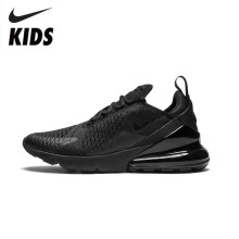 Nike Air Max 270 Original Kids Running Shoes Air Cushion Black Sport Outdoor Sneakers #AH8050-001 original new arrival authentic nike zoom winflo 5 mens running shoes sneakers breathable sport outdoor good quality aa7406 001