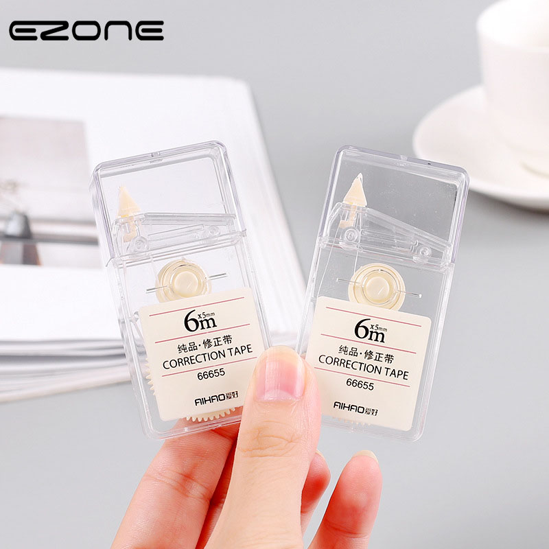 EZONE 1PC 6M Correction Tape Writing Correction Tool Big Capacity Simple Long Belt Style Students Stationery Office Supply