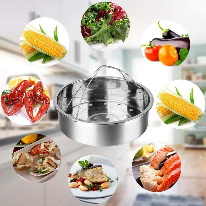Stainless Steel Split Detachable Steam Grid Steamer Set Pressure Cooker Peripheral Accessories Steamer Steamer Rack