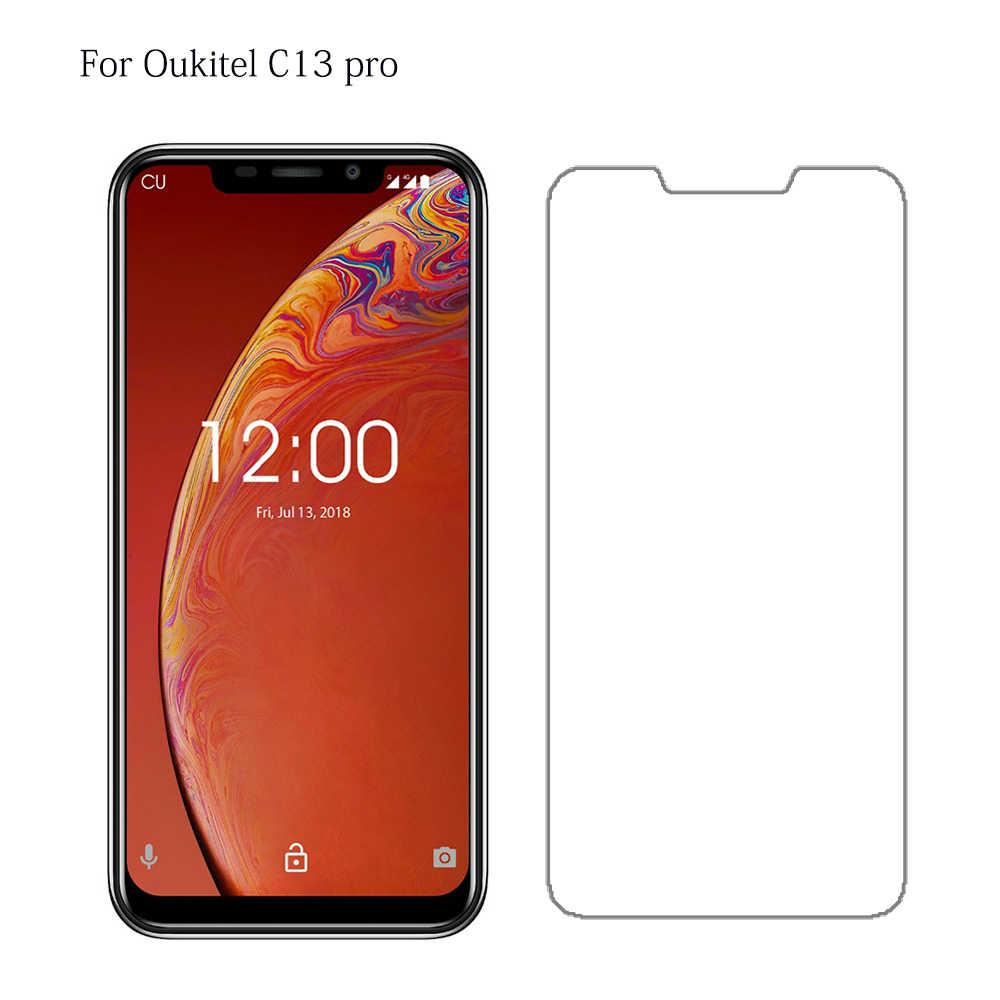 9 h Vetro Temperato Per Oukitel C11 C12 C13 C15 U25 Pro Smartphone 2.5d Protezione Dello Schermo di Alta Qualità Per C15pro vetro di protezione