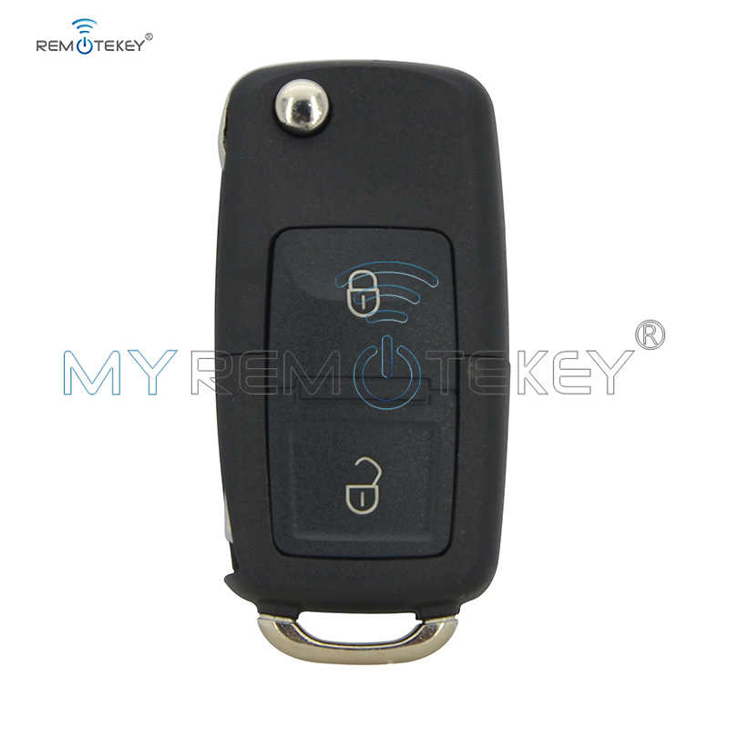 Remtekey 1J0 959 753 N удаленное 2 кнопки 434 mhz ID48 чип 1J0959753N для VW Beetle Bora Golf Jetta Passat 1998-2011