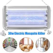 US Plug 30W LED Mosquito Killer Lamp Electric Mosquitos Traps Home Wall Mounted Outdoor Anti Insect Pest Bug Zapper Killer Light
