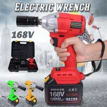 220V-240V 19800mAh Cordless Brushless Electric Wrench Impact Socket Wrench Li Battery Hand Drill Power Tools With Fast Charger(China)