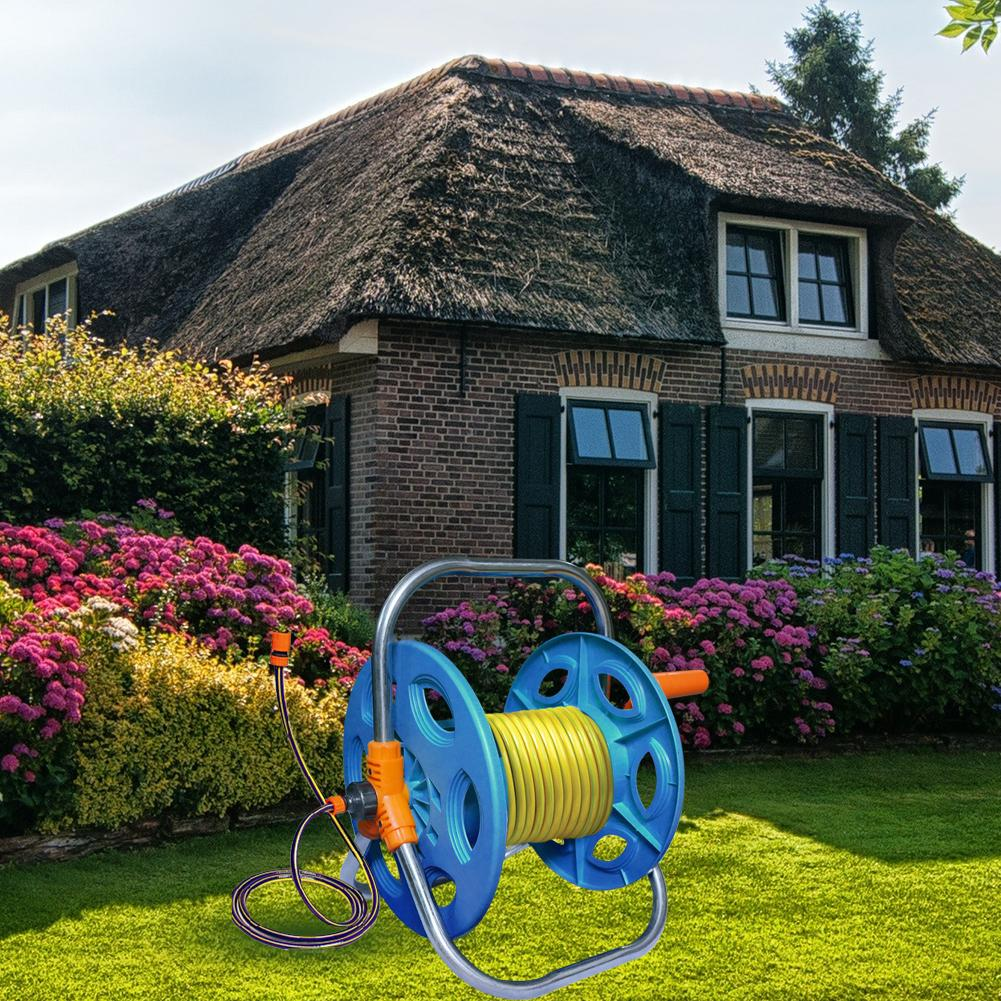 Tragbare 20 m 30 m 40 m Haushalt Garten Wasser Schlauch Reel Warenkorb Rohr Lagerung Auto Washer PipeHose Wickel Werkzeug rack Halter
