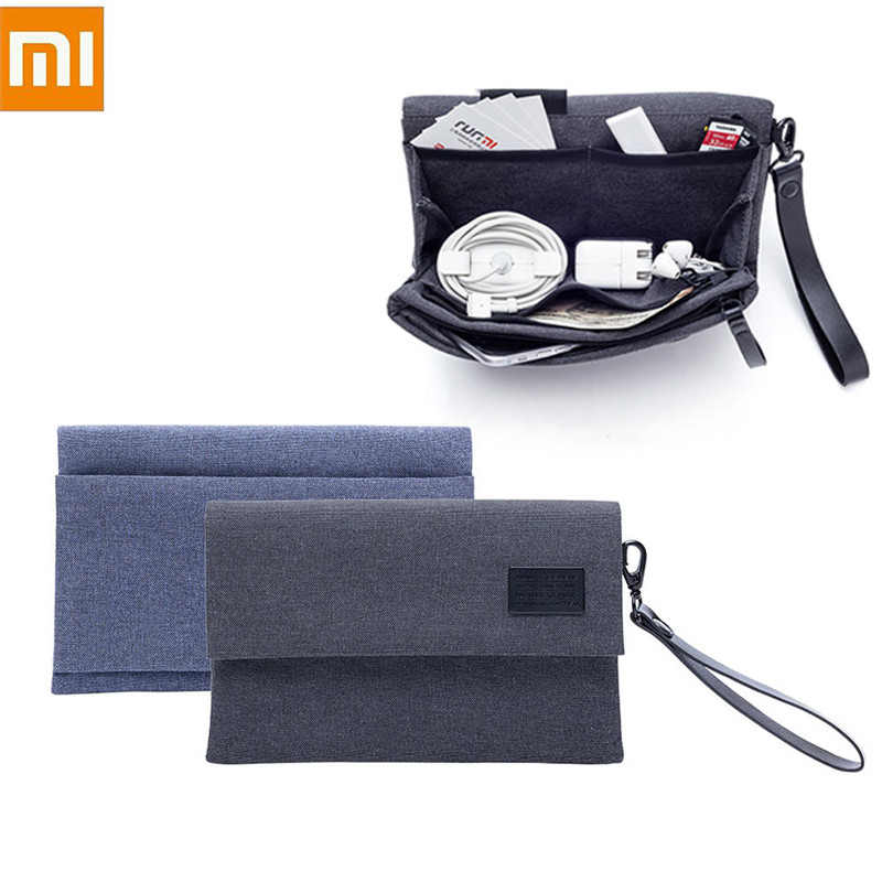 XIAOMI Travel Cable Bag Portable Digital USB Gadget Organizer Charger Wires Cosmetic Zipper Storage Case Accessories Supplies