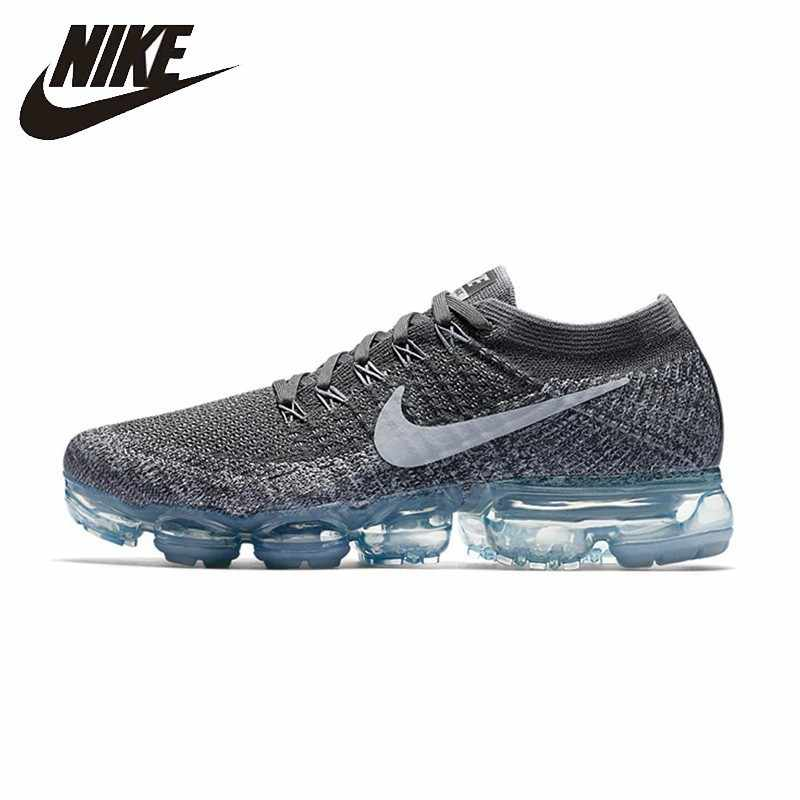 san francisco ec4ef 87db8 NIKE Original Air VaporMax New Arrival Mens Running Shoes Mesh Breathable  Massage Outdoor Support Sports Sneakers