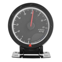 9000 RPM 3.15inch LED Tachometer, Rev Counter Universal Digital Rotation Speed Gauge With Backlight for 12V Auto Racing Car wi