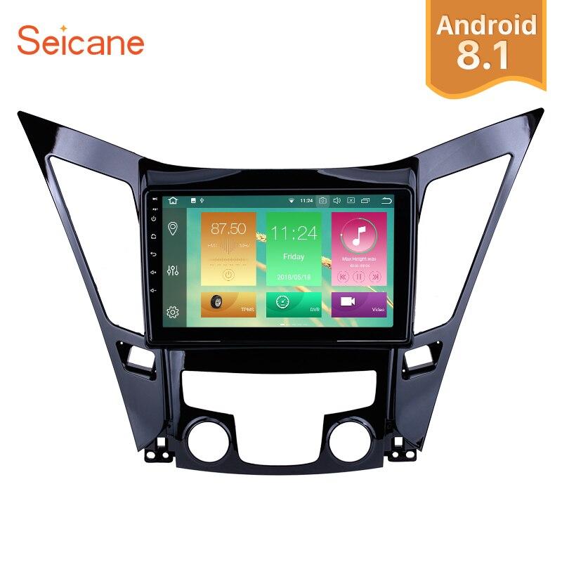 Seicane 1Din 9 Android 8 1 8 0 GPS Car Radio For 2011 2015 HYUNDAI Sonata