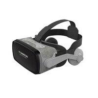 Hot TTKK SHINECON Casque 9.0 VR Virtual Reality Goggles 3D Glasses Google Cardboard VR Headset Box For 4.0 6.3 Inch Smartphone
