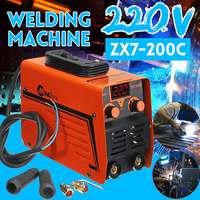 ZX7 200C Handheld IGBT Inverter MMA ARC Welding Mini Welders Machine 25 200A