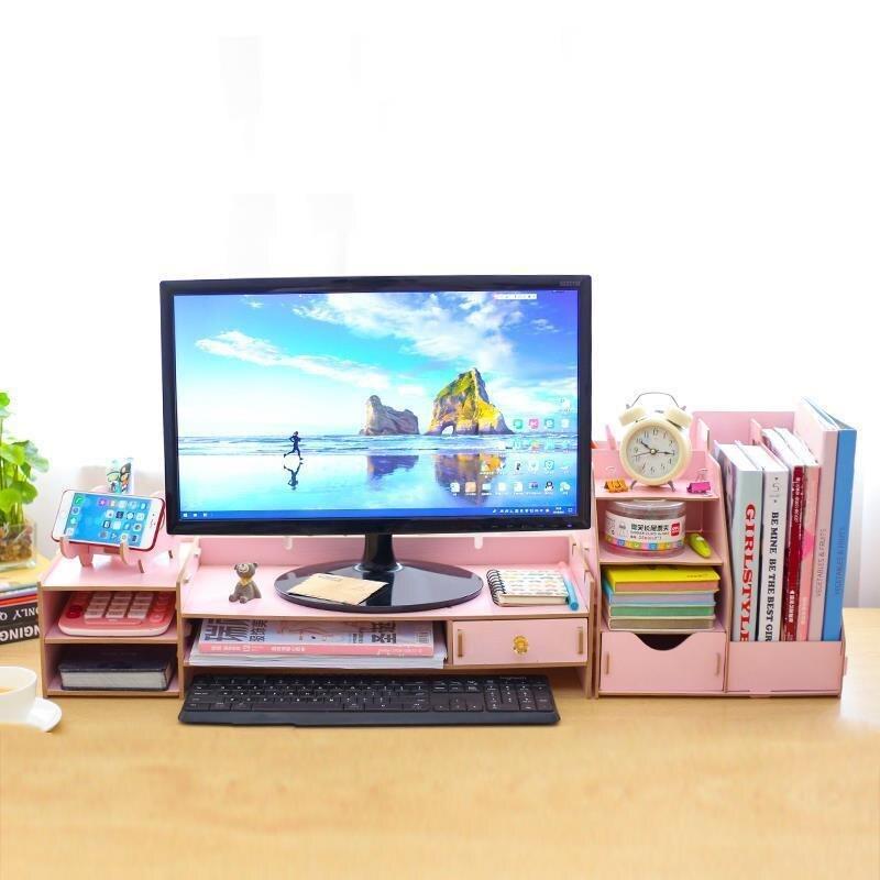 Nordico Plate Small Home Organization And Storage Computer Display Stand Prateleira Repisas Estantes Shelf Organizer Shelves in Storage Holders Racks from Home Garden