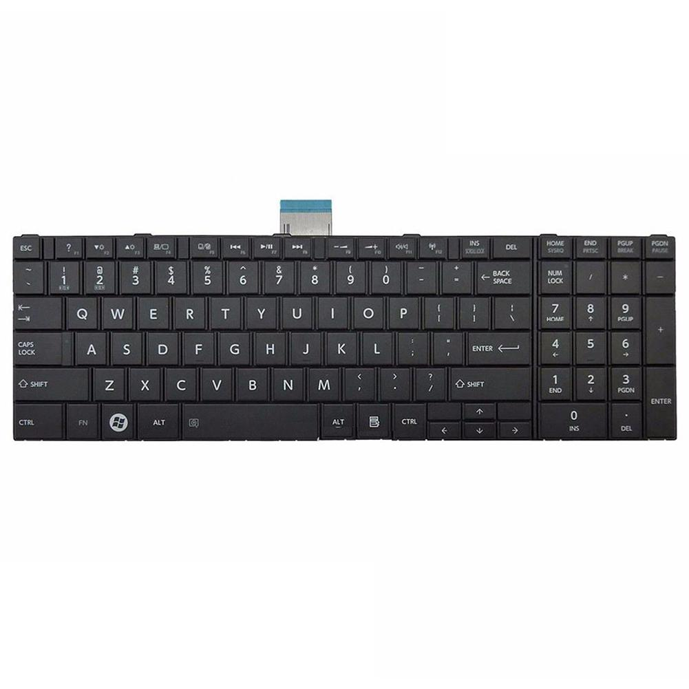 New Arrival US Standard Replacement Laptop Keyboard for Toshiba Satellite C850 C850D C855 C855D L850 L850D L855 image