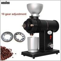 XEOLEO Electric Coffee grinder 200W ghost tooth Flat Wheel Burr grinder Anti burn Coffee miller Coffee milling machine 100 160rp