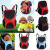 Outdoor Double Shoulder Dog Bag Backpack Pet Travel Dog Cat Carrier Mesh Windows 2